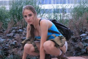Lara Croft Cosplay by truecolor101
