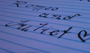 Romeo and Juliet - Calligraphy by AliceLovesChes