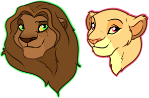 Lion Busts Trade by oCrystal