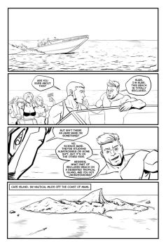 EvolOcean Issue 1 page 1 by BloodySamoan