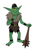 Commission: Blarg the Goblin by Trinityinyang
