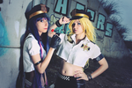 Panty and Stocking by Abletodoall