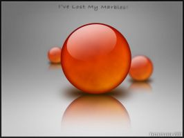 Lost My Marbles by Vectortrance