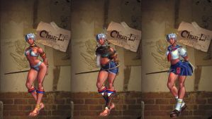 SFTK PC Elena on Chun-Li (backport from xbox360) by moddah