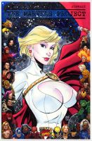 Powergirl cover by MichaelDooney