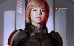 Shepard Soonkyu (MASS EFFECT III) by spiderliliez