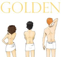 HP - The Golden Trio by vive-m