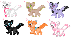 Canine adopts -OPEN- SALE by OokamiAdopts