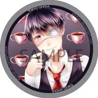 Tokyo Ghoul Badge by Z0Chan