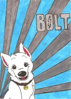 Bolt Poster by chameron