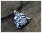 Thors hammer Warrior Necklace by WearTheRare