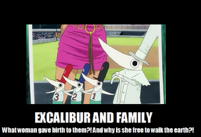 Excalibur and family by HyperNeko-chan2