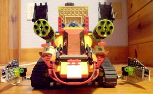 LEGO transformers? open front by CanadaLeaf7