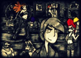 Deponia (SinCity Style/Nachbearbeitet) by Amycah