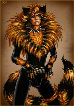 Rum Tum Tugger by Candra