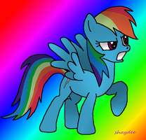 25 Pony Challenge Rainbow Dash by The-Real-Shaydee