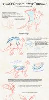 Dragon wing tutorial part 2 by KaraTails