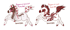 Peppermint Bark Colts [ShortAxel] by Kama-ItaeteXIII
