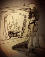 AC Day 14 - Roastin by the Open Fire by roseandthorn