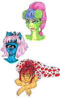 New Character Doodles by Shadowstar