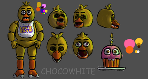 Chica the Chicken by ChocoWhite-QueenDuck