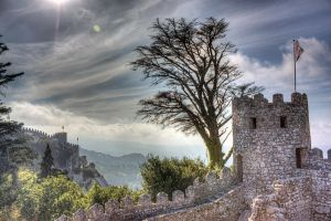 Castelo dos Mouros - Backlight by goncalo-lopes