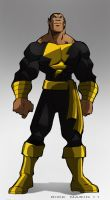 Black Adam by Misterho