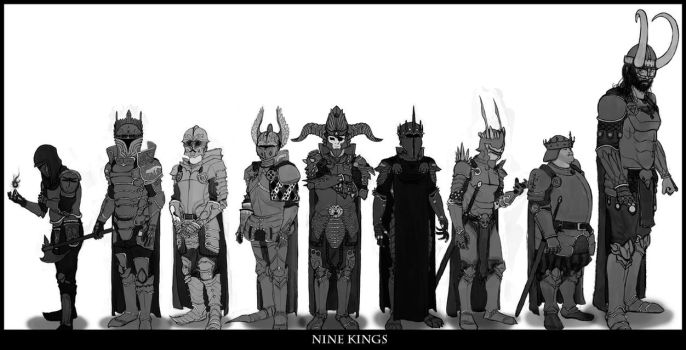 Nine Kings by ShaneNelson
