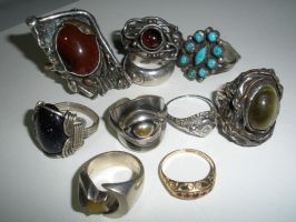 Ring collection by symbion-pandora