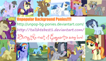 Unpop Ponies Banner by tailsthebest1