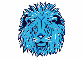 Blue Lion by Auster-ity