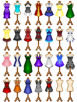26 Dress Adopt [REDUCE PRICE] (Closed) by AssassinWitch
