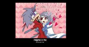 ragna nu mp with hugs by singfried