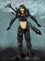Natyss, Death Knight by Tempestus1
