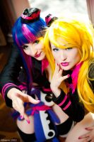 Anarchy Sisters - Panty and Stocking by Mostflogged