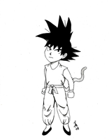 DragonBall Kid Goku by KillerDragon001