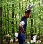 David the Easter Bunny by Scifiangel