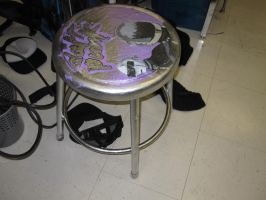 Daft stool by A-Daft-Oppo