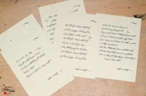 To Write Calligraphy by keillly
