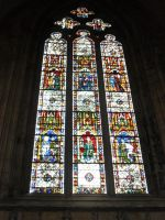Stained Glass Window, York Minster by Captured-Being
