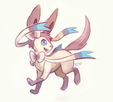 Sylveon by buyo-baka