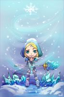 crystal maiden by Satelka