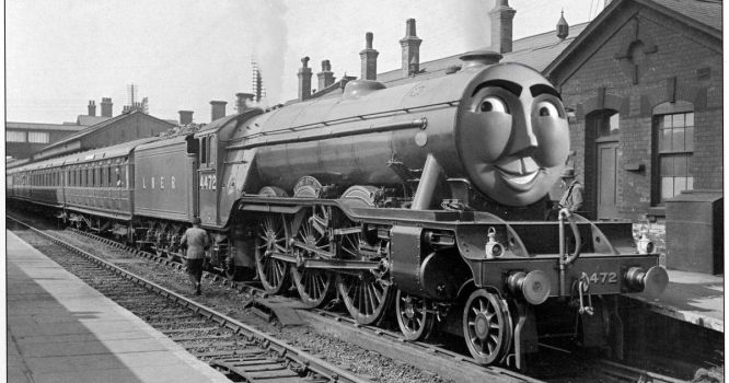Flying Scotsman 1933 by The-ARC-Minister