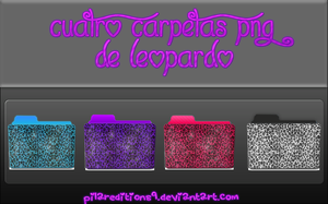 +4 Folders Png by PilarEditions9