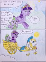 Princess Twilight Flies to Ponyville by jothecatlover