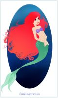 The Little Mermaid by Apple-Spice