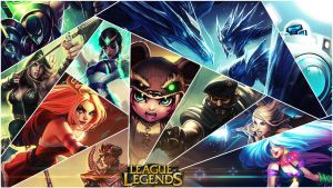 League Of Legends : Collection Of Champions by mex8