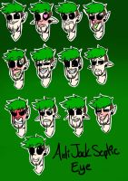 AntiJackSepticEye (Expressions) by Rocker2point0