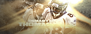 Demaryius Thomas by Gein12