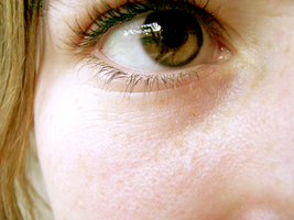 My Eyeball and some freckles:3 by nethingbutordinary